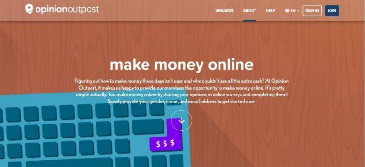 make money with opinion outpost