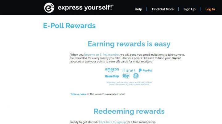 E-poll rewards