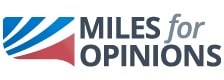 Miles for Opinions logo